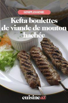 Les boulettes kefta de viande de mouton hachée sont à cuire au four. #recette#cuisine#boulette#viande #mouton C'est Bon, Barbecue, Beef, Four, Special Recipes, Sheep, Dumplings, Meat, Barrel Smoker