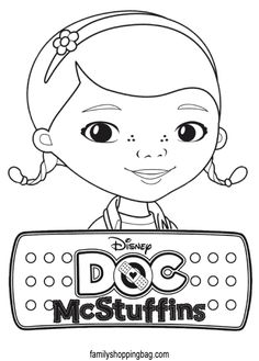 9 Free Disney Doc McStuffins Printable Coloring Pages | From The ...