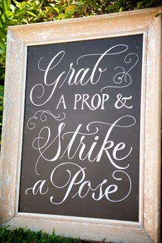 Shine Your Light: Fancy Chalkboard Lettering