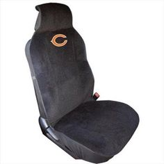 NFL Chicago Bears Plush Seat Cover, Multicolor