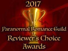 2017 Paranormal Romance Guild Award Winners