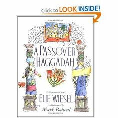 haggadah...simple and beautiful layout, drawings and commentary