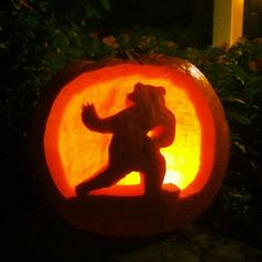 The #HeismanBear never gets old! (via KelleyNicole on Twitter) #SicEm #Baylor #pumpkin