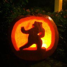 The #HeismanBear never gets old! (via KelleyNicole on Twitter) #SicEm #Baylor #pumpkin
