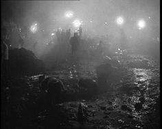 On 21 October 1966, after several days of heavy rain, 40,000 cubic metres of debris from a colliery waste tip broke away and slid downhill towards the Welsh village of Aberfan.    The catastrophic landslide hit the local junior school, killing 116 children and 28 adults.  http://www.britishpathe.com/video/this-is-tragedy