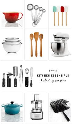 kitchen essentials holiday gift guide / @loveandlemons