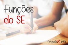Funções do SE em videoaula para você. Aprenda as principais funções do pronome SE nas provas de concursos. Videoaulas de português grátis para concursos.
