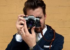 Transit Issue Camera Strap by Apolis