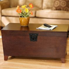 Pyramid Trunk Coffee Table - Bernie And Phyls
