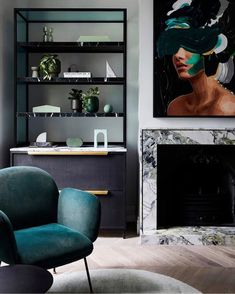 "Dot➕Pop Interiors - Eve Gunson (@dotandpop) posted on Instagram: ""Give me all that green 🦚  This stunning home of @becjudd  @thestyleschool  Designed by @biasoldesign  Build @themelbournebuilder  Floors…"" • Jul 21, 2020 at 10:47am UTC Interior Design Studio, Interior Styling, Rebecca Judd, Spanish Colonial Homes, Tiny Spaces, Diy Décoration, Flat Sheets, Soft Furnishings, Interior Architecture"