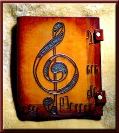 COMPOSER'S EDGE MUSIC Songbook & Journal • A Beautifully Hand Crafted Leather Journal with Staff Lined Paper for the Musician in your Family