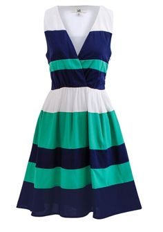 Boardwalk Stripes Dress