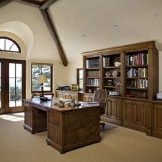 Man's Office Design, Pictures, Remodel, Decor and Ideas