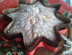 orange poinsettia and amaretti Burritos, Christmas Dishes, Macaroons, Italian Recipes, Mousse, Stella, Food And Drink, Sweet, Desserts
