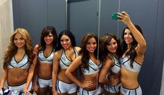 The Spurs Silver Dancers Drop a 6-Piece Cheer Selfie on Us