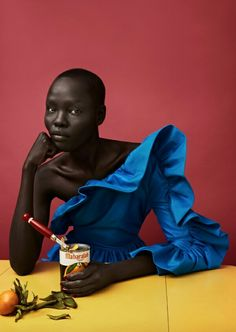 Grace Bol for Luncheon Magazine Issue 3. Photographed by Solve Sundsbo