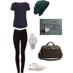 """""""Beanie Outfit I Love"""" by ashtonwilson09 on Polyvore"""