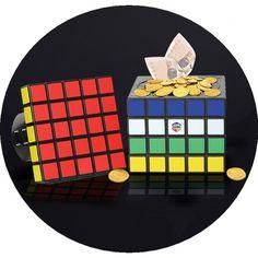 Coffre-Fort Rubik's Cube tirelire
