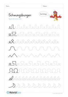 Deutsch Lernen Vorschule – Rebel Without Applause Tracing Worksheets, Preschool Worksheets, Preschool Activities, Teaching Kids, Kids Learning, Early Intervention Program, Kindergarten Portfolio, Kids Behavior, Educational Programs