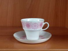 Arabia Heili Kitchenware, Tableware, Marimekko, Finland, Cupboard, Tea Cups, Mugs, Glass, Crafts