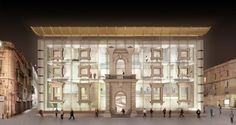The Malta Parliament project on the old Opera House site, La Valletta, Malta - Richard England