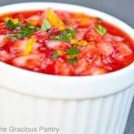 Clean Eating Strawberry Salsa