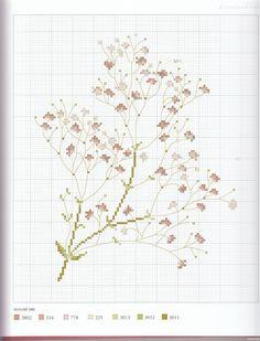 воздушные цветочки