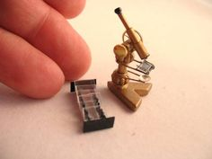 Micro microscope and slides