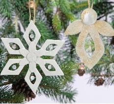Clay and Bead Snowflake Ornament > Creative Home Arts Club