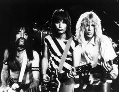 This is Spinal Tap, 1984.  Spinal Tap's mockumentary manages to tell the story of every rock band big and small, while also inventing a movie genre of its own.  Innovative, hilarious, and rockin'!