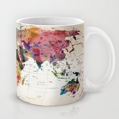 Buy map Mug by mark
