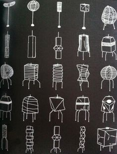 Isamu Noguchi | Akari lamps
