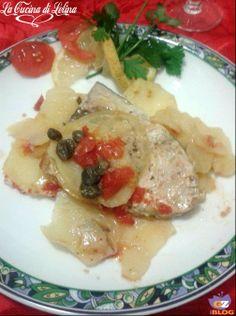 Pesce spada al cartoccio http://blog.giallozafferano.it/lacucinadilelina/pesce-al-cartoccio-ricetta-delicata/