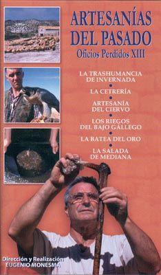 DVD DOC 197 - Artesanías del pasado (2004) España. Dir: Eugenio Monesma. Documental. Contén, entre outros: DVD 1: Las castañas. La caña de azúcar. La cerveza - DVD 2: Las escobas de brezo. Cestos de castaño. Los rastrillos. Las carracas. El cucharero de Oitz - DVD 3: Campanas y campaneros en Salas Altas. Juguetes populares en Albero Bajo - DVD 4. La trashumancia de invernada. La cetrería. Artesanía del ciervo. La batea del oro - DVD 5. Casetas de piedra seca. Los guardaviñas. Gorras de paja