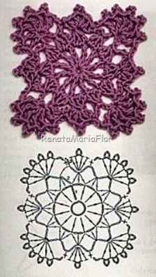 Captivating All About Crochet Ideas. Awe Inspiring All About Crochet Ideas. Crochet Squares, Crochet Snowflake Pattern, Crochet Motif Patterns, Crochet Lace Edging, Crochet Diy, Granny Square Crochet Pattern, Crochet World, Crochet Diagram, Freeform Crochet