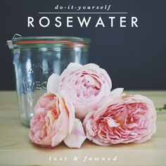 DIY // Rosewater: Method One