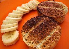 Pan de avena al microondas sin harina en 1:30 minutos (apto diabéticos)