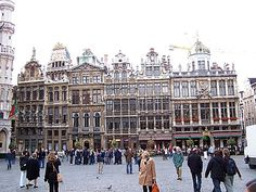 Belgium,Brussel-Been here and stood in front of this same exact building. Its pretty but expensive.