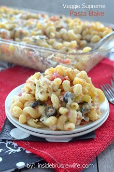 Veggies and melty cheese will make this pasta dinner a family favorite. #cheese #dinner #recipe #dairyfuel