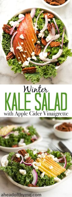 Cozy winter kale sal