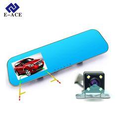 compare prices e ace car dvr auto video recorder rear view mirror with camera fhd 1080p dashcam #vibration #monitoring