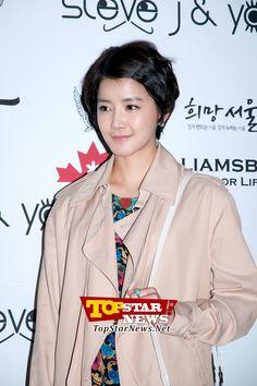 이시영, '봄을 알리는 꽃무늬 원피스' …서울 패션 위크 F/W 2012-2013 행사 현장