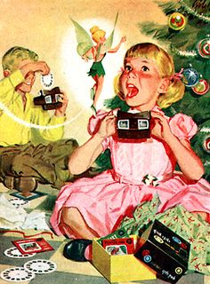 view-master tinker bell ad c.1957