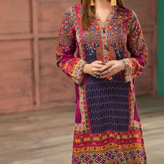 Buy Latest Lawn Suits Collection 2019 Online in Pakistan Latest Pakistani Dresses, Pakistani Lawn Suits, Pakistani Designer Suits, Pakistani Fashion Casual, Pakistani Dress Design, Pakistani Bridal, Latest Dress Design, Embroidery Dress, Embroidered Dresses