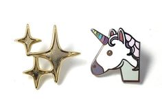 Unicorn and Sparkle Pin Pack - Pintrill