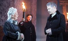 Judi Dench as Paulina and Kenneth Branagh as Leontes in The Winter's Tale