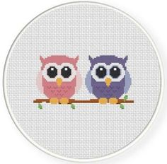 Thrilling Designing Your Own Cross Stitch Embroidery Patterns Ideas. Exhilarating Designing Your Own Cross Stitch Embroidery Patterns Ideas. Cross Stitch Owl, Cross Stitch Animals, Modern Cross Stitch, Cross Stitch Designs, Cross Stitching, Cross Stitch Embroidery, Embroidery Patterns, Hand Embroidery, Cross Stitch Patterns