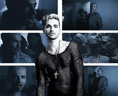 Bill Kaulitz.  Love Who Loves You Back video.  #tokiohotel