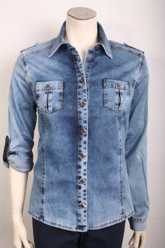 Monari Spijkerhemd Spring 2014