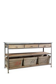Iron Console by Rustic Objects & Furniture on @HauteLook